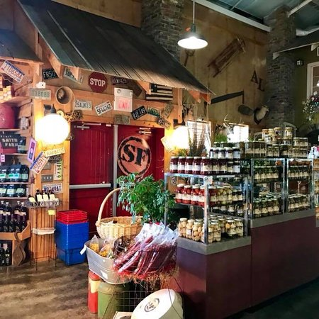 If you go to Cullman you need to stop and check out Smith Farms.  The market is so nice and they