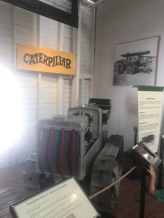 Museum of Ventura County - Agriculture Museum : I love the vintage Caterpillar logo.