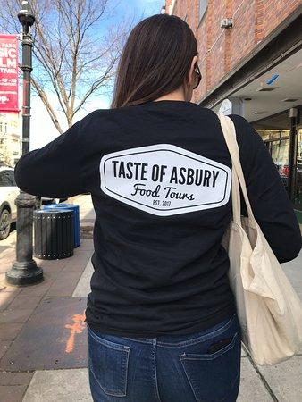 Taste of Asbury Food Tours: Our host Bonnie
