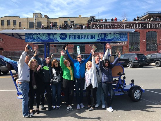 Asbury Park, Nueva Jersey: Our ride