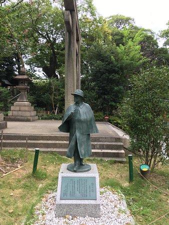 Sakunosuke Oda Statue