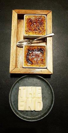 Haaltert, بلجيكا: Peu importe le macaron. Pas connu. Les photos en disent beaucoup... Bistronomie.. A la limite..