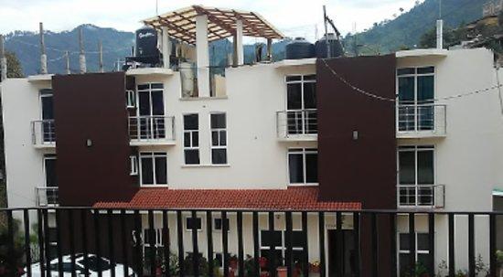 Santa Catarina Juquila, Mexico: Las mejores habitaciones estan en esta parte del hotel