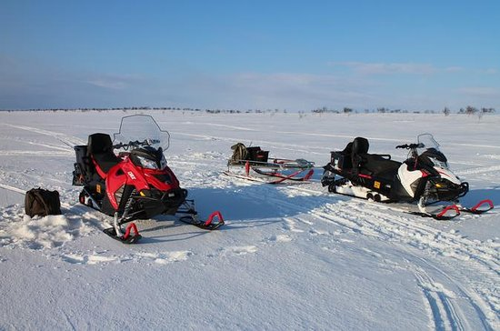 Full Day Snowmobile Driving with Ice...