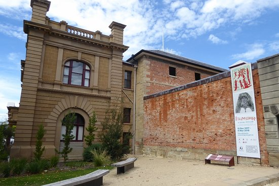 Tasmanian Museum and Art Gallery: Front facade