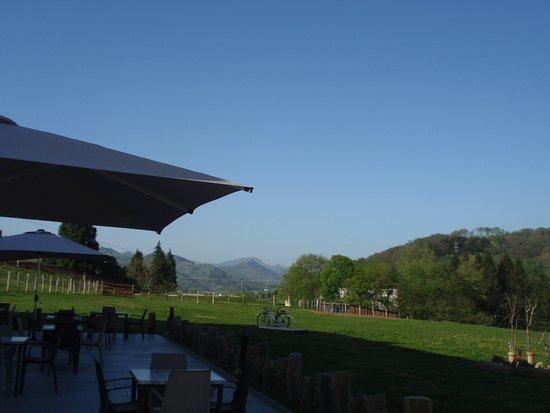 Oiartzun, Espanha: terrasse restaurant