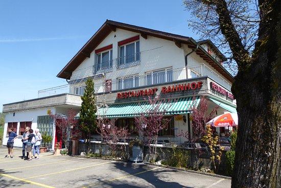 Worb, Schweiz: Terrasse