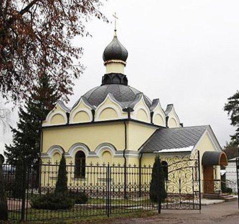 Zvenigorod, Russland: храм