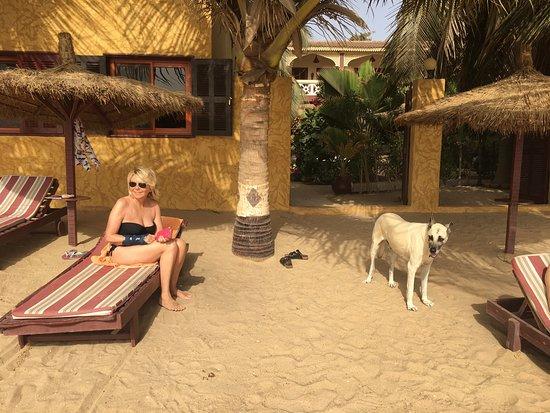 Nianing, เซเนกัล: détente plage