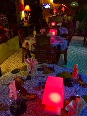 Nianing, เซเนกัล: restaurant