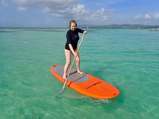Canaan, Tobago: Stand Up Paddle, Pigeon Point, Tobago