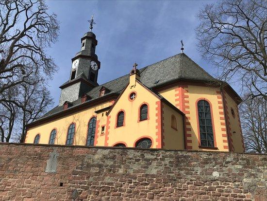 Nidderau, Tyskland: Pfarrkirche Mariä Verkündigung