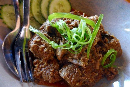 Menai, أستراليا: Beef Rendang and roti, supurb!
