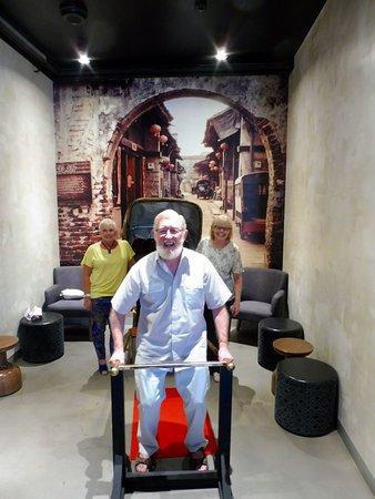 Menai, أستراليا: The Rustic Rickshaw!