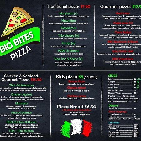 Amberley, New Zealand: Big Bites Pizza
