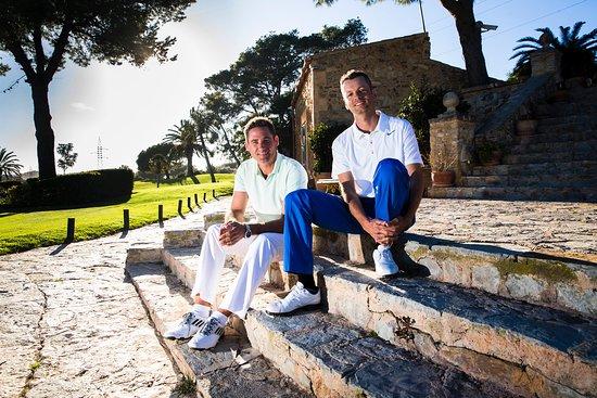 Capdepera, Spain: Michel Monnard & Tobias Widmer