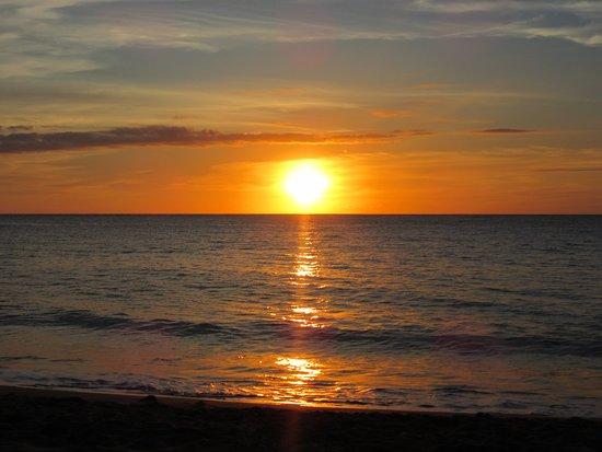Fleurs des Iles : Coucher de soleil Grande Anse