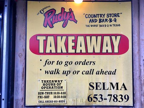 "Selma, Техас: 'Worst BBQ in Texas!"""
