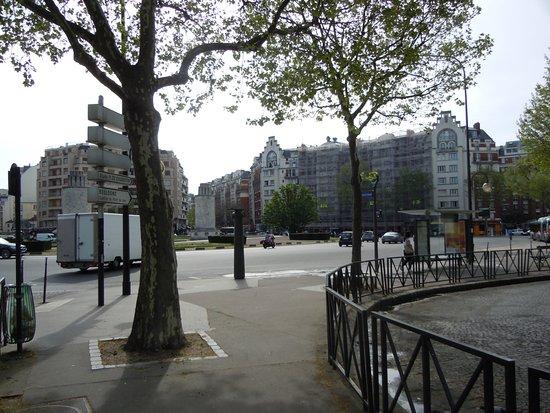 Vers le jardin Octave Mirbeau et la gare routière - Bild von Place ...