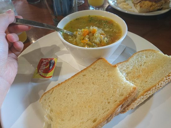 Fairlie, New Zealand: the soup which was really lovely!~