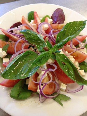 Valby, Denmark: salat