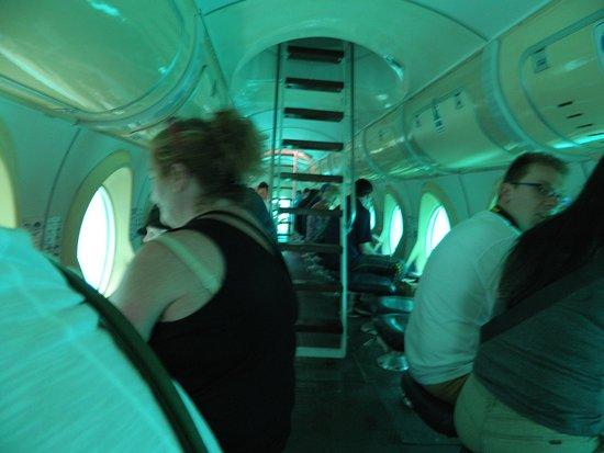 Submarine Safaris: binnenkant