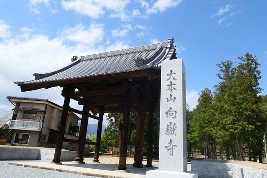 Kogaku-ji Temple: この門の名称は知りませんが、入口の所にあり素敵でした。