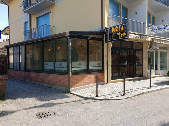 Tonfano, Ιταλία: Pizza Da Osvá