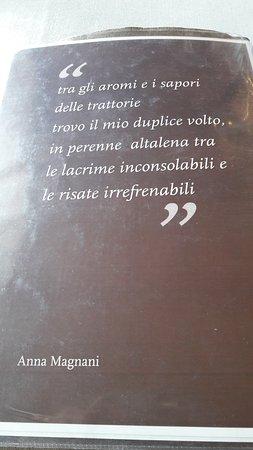 Frase Di Anna Magnani Attrice Cinematografica Nel Menu Foto Di