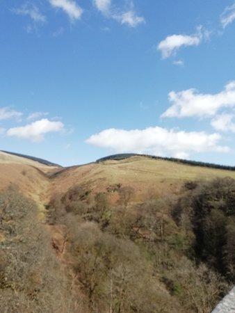 Dollar, UK: View of surrounding hills
