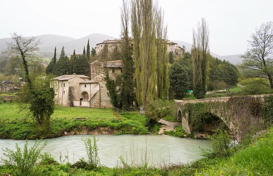 Sant'Anatolia di Narco, Italy: Abbazia.