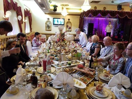 Zhivago Restaurant Banquets Friend S Wedding Reception Sunday Brunch