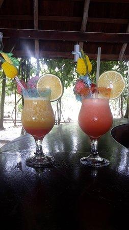 Berg en Dal, سورينام: Cocktail à tomber fait par Sylvio le barman qui a sublimé notre séjour