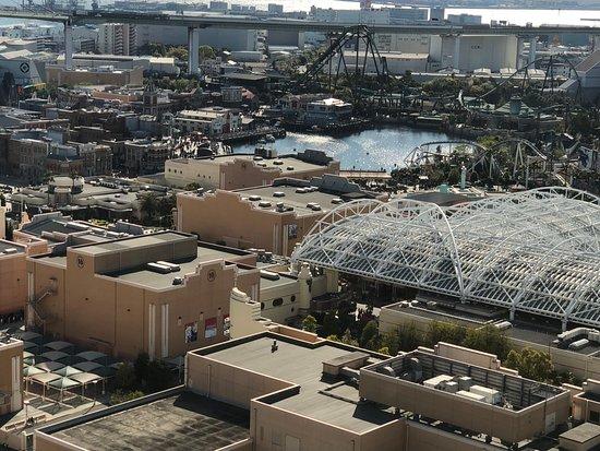 Hotel Keihan Universal Tower : View of Universal Studios