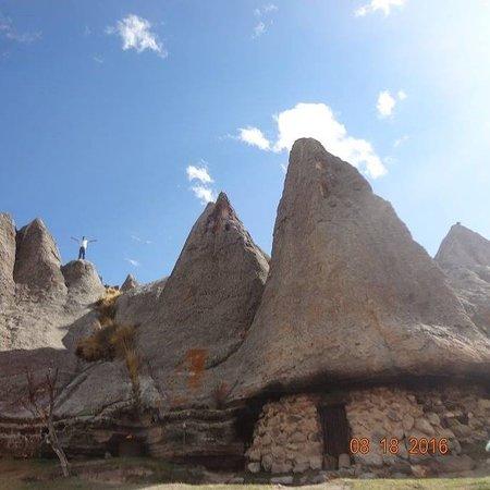 Pampachiri, Peru: casitas de los pitufos