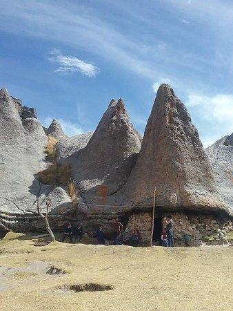 Pampachiri, Peru: casita de los pitufos ahi conocimos a pitufina una señora muy buena onda ... :)