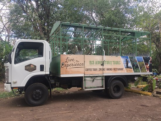 Cafe Las Flores: SUV to go to the top!