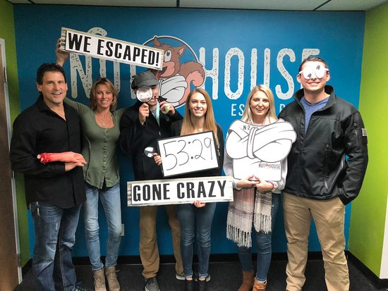 Nut House Escape Rooms: Great for a night out with the family