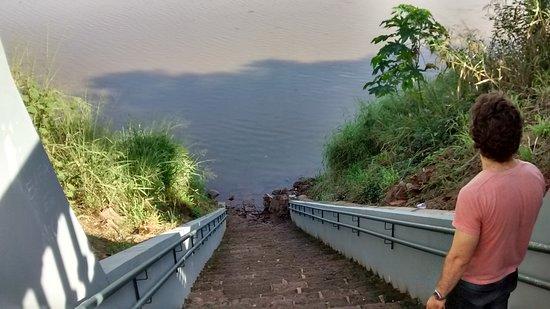 Estrela, RS: O rio.