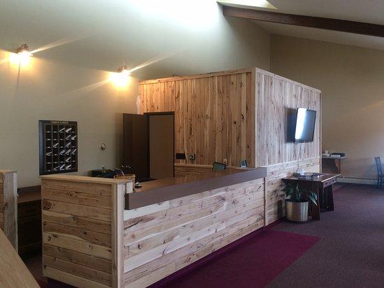 Baudette, Minnesota: Check-in Desk