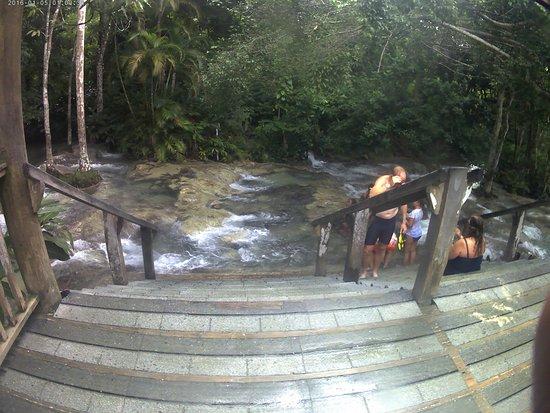 Dunn's River Falls and Park: Onde terminam as cascatas