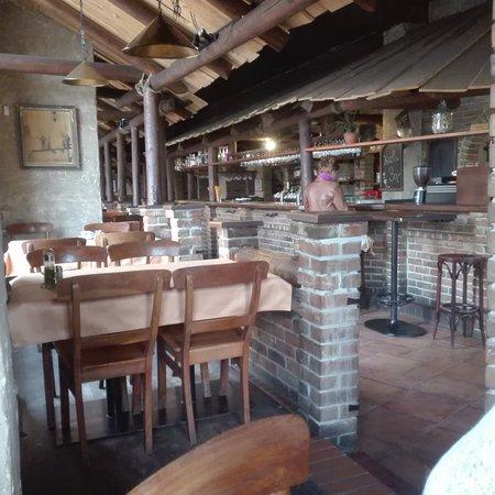 Cesky Tesin, Τσεχική Δημοκρατία: Wnętrze restauracji
