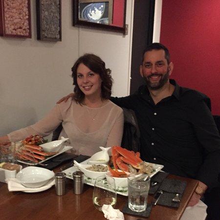 North Sydney, Canadá: Fresh crab dinner!!