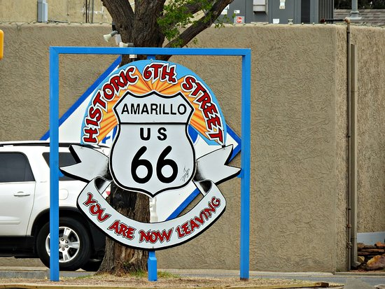 Route 66 Historic District : See y'all...