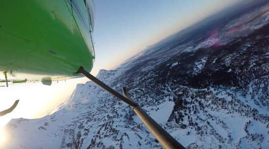 Bend, Oregón: Spring sunset flights to the Cascades