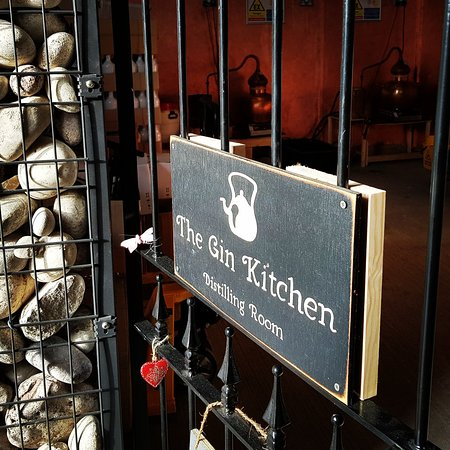 Dorking, UK: The Gin Kitchen