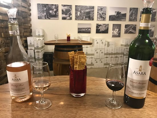 Asara Wine Estate & Hotel: Wine Tasting