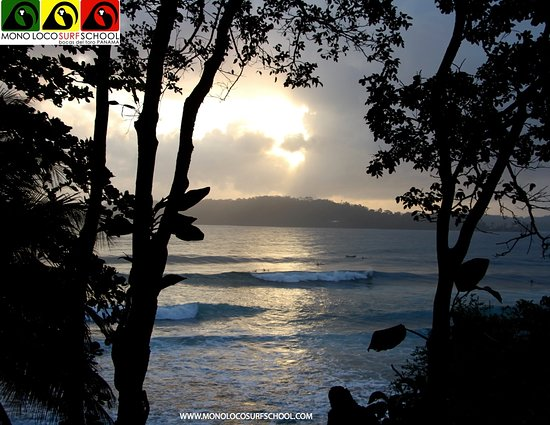 Isla Colón, Panamá: #monolocosurfschool #bocasdeltoro #panama #islacolon #surfschool