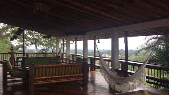Hacienda Combia: Esta es la vista desde la habitación del lado de la zona de la piscina