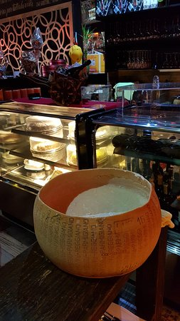 San Rafael de Escazu, Costa Rica: Bowl of Parmigiano-Reggiano (that is the Real name of the true Parmesan Cheese from Italy)
